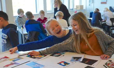 Kongeligt arbejde på Thurø Skole