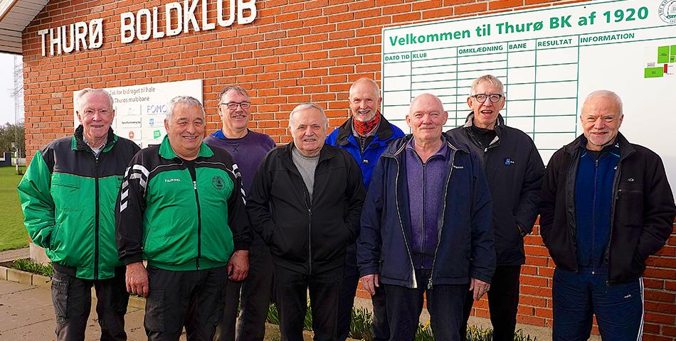 Thurø Boldklub har sat holdet