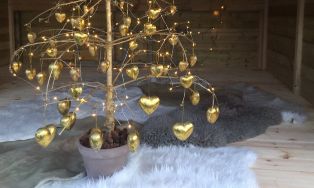 Genbrug juletræet
