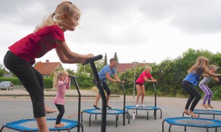 """Gymnastikken er """"flyvende"""" på Thurø"""