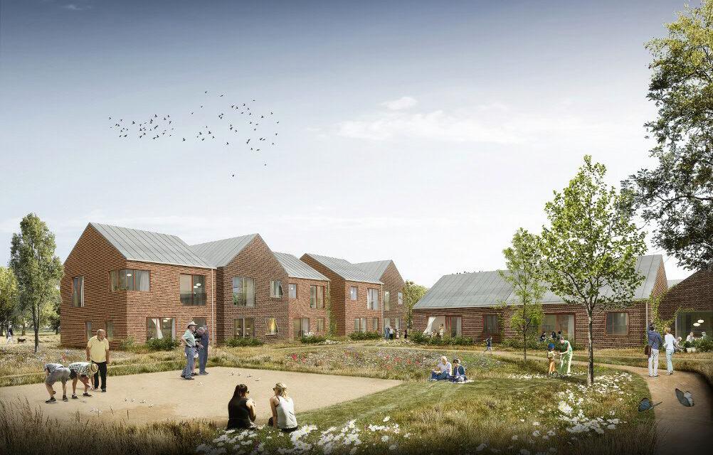 """Bofællesskab Eriksholmsvej åbner havelågen  til bæredygtigt, socialt boligprojekt """"for alle generationer"""""""