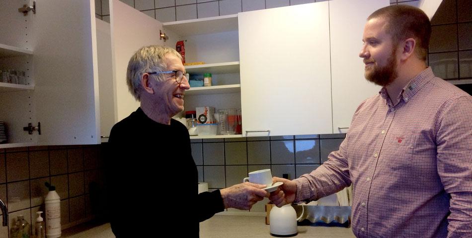 """Tak for kaffe for et """"nyt"""" køkken"""